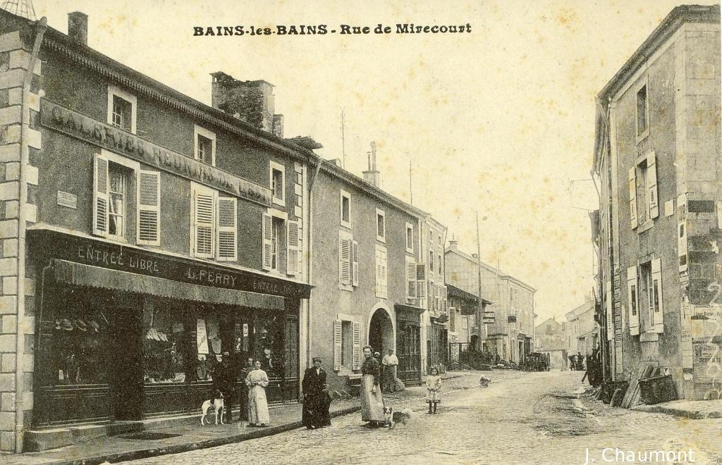 Bains les bains bains les bains rue de mirecourt for Rue des bains