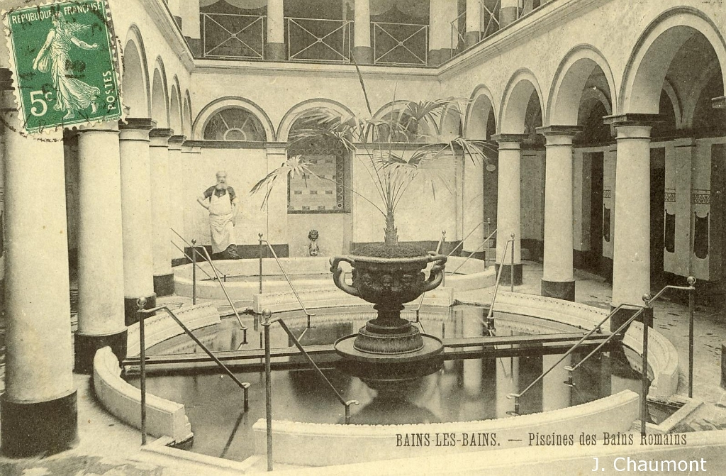 bains les bains bains les bains piscine des bains romains. Black Bedroom Furniture Sets. Home Design Ideas