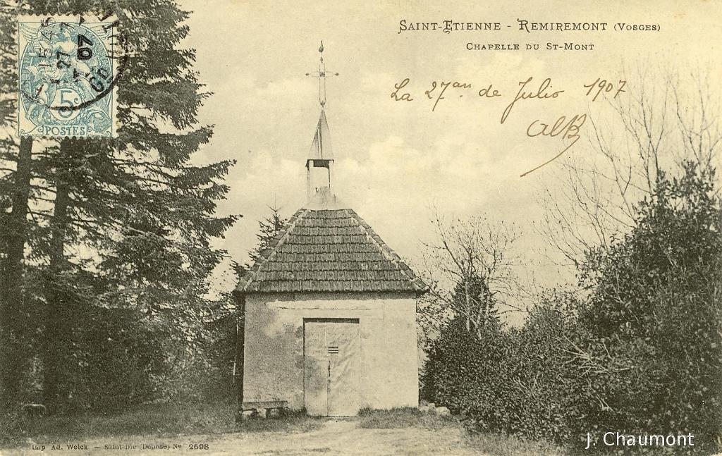 saint etienne les remiremont saint etienne remiremont chapelle du saint mont. Black Bedroom Furniture Sets. Home Design Ideas