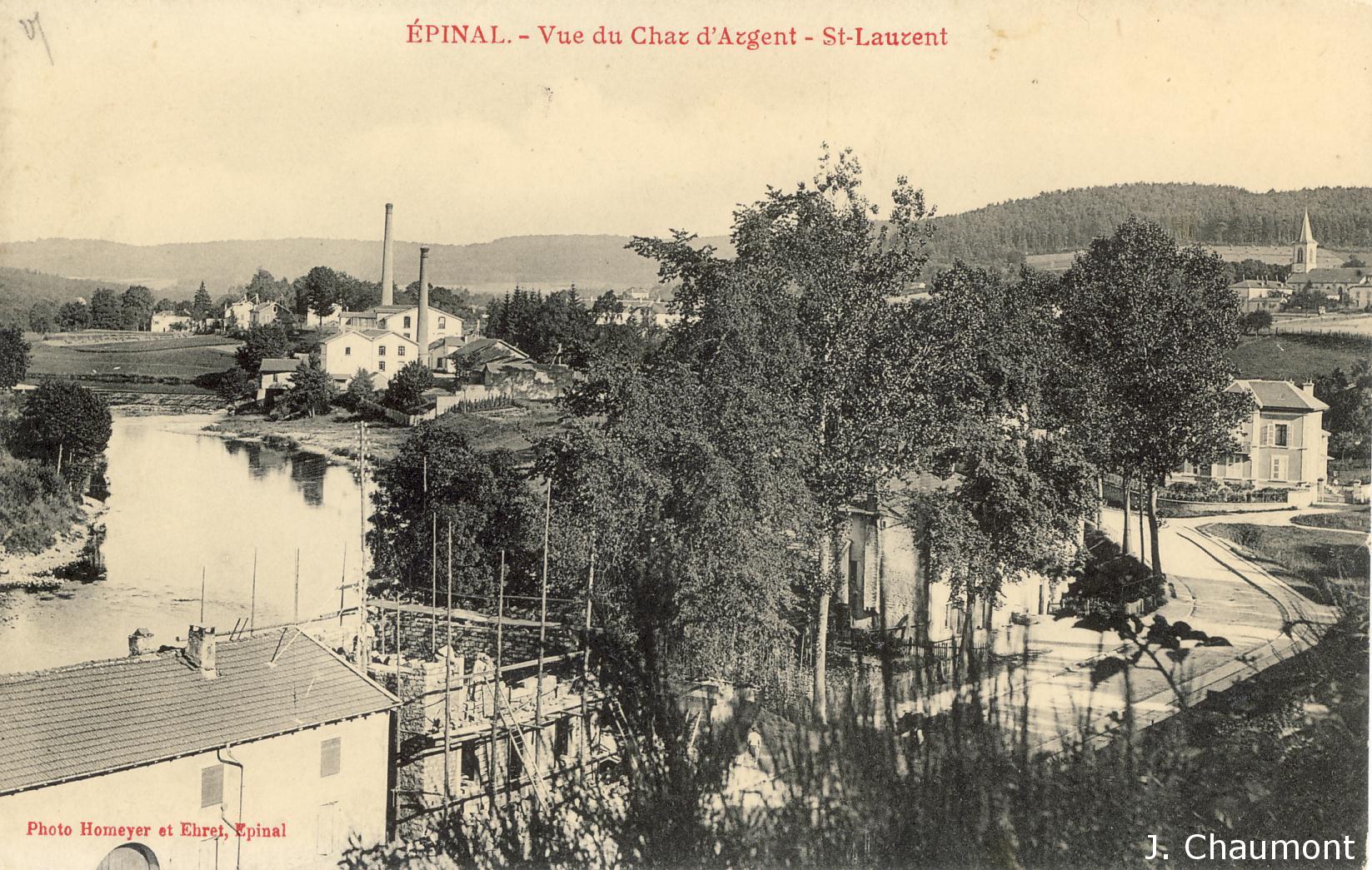 Char d'Argent en 1910