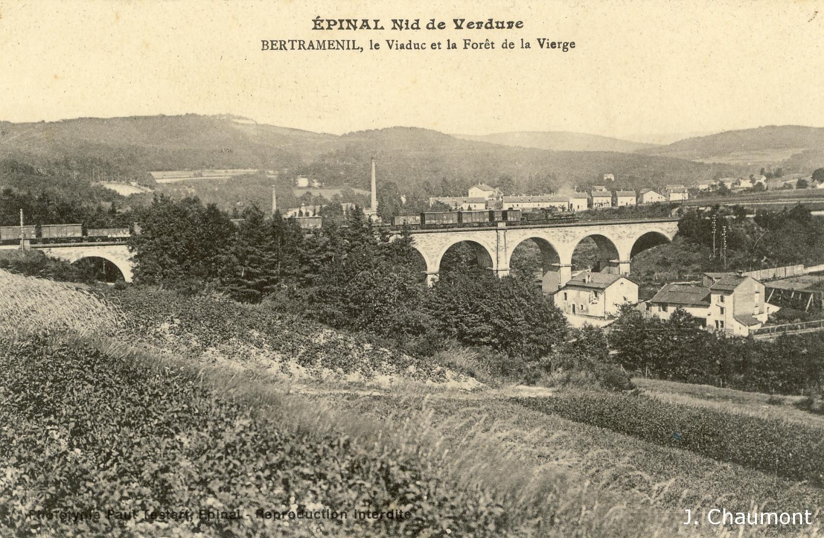 Bertraménil, Viaduc et Forêt de la Vierge