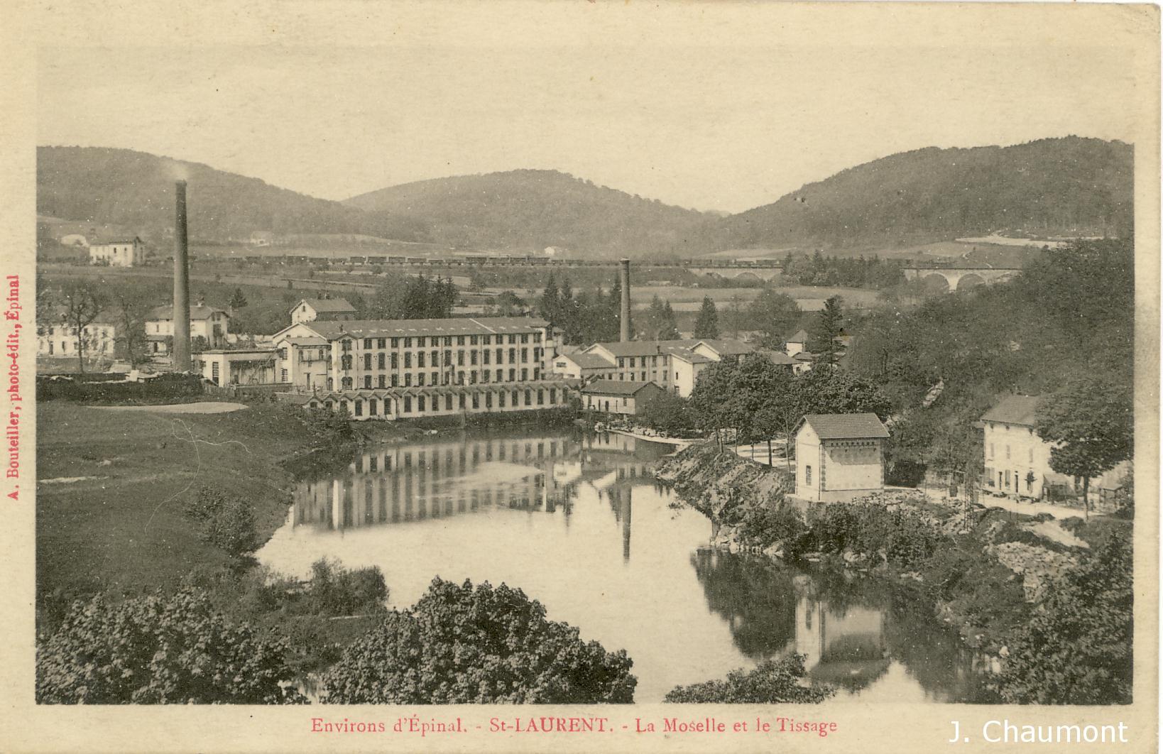 La Moselle et le Tissage