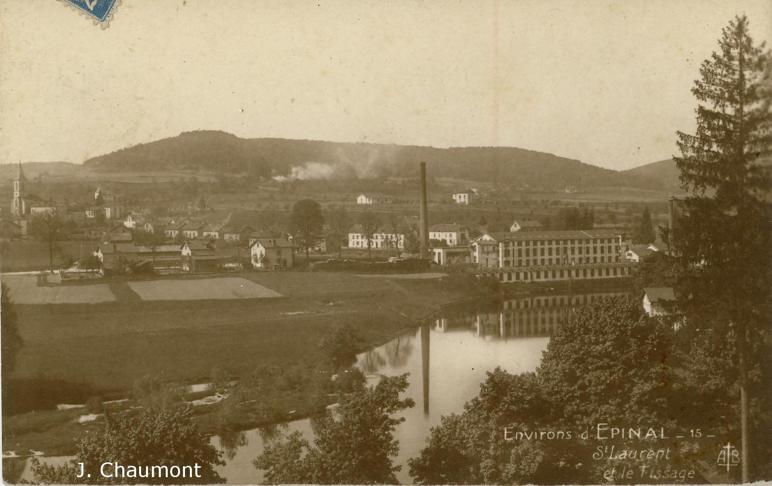 Saint-Laurent et le Tissage dans les années 1930