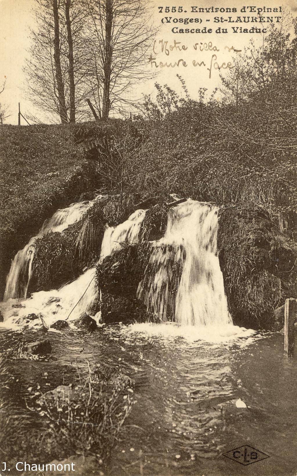 Cascade du Viaduc dans les années 1920