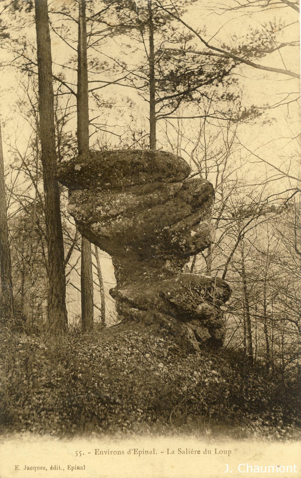 La Salière du Loup vers 1907