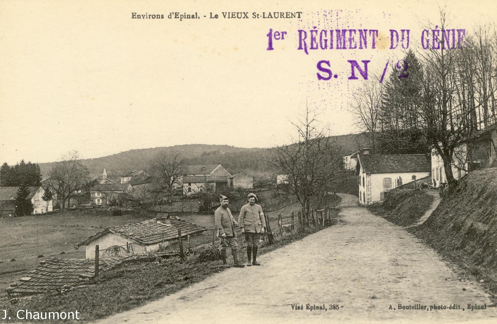 Vieux Saint-Laurent en 1917