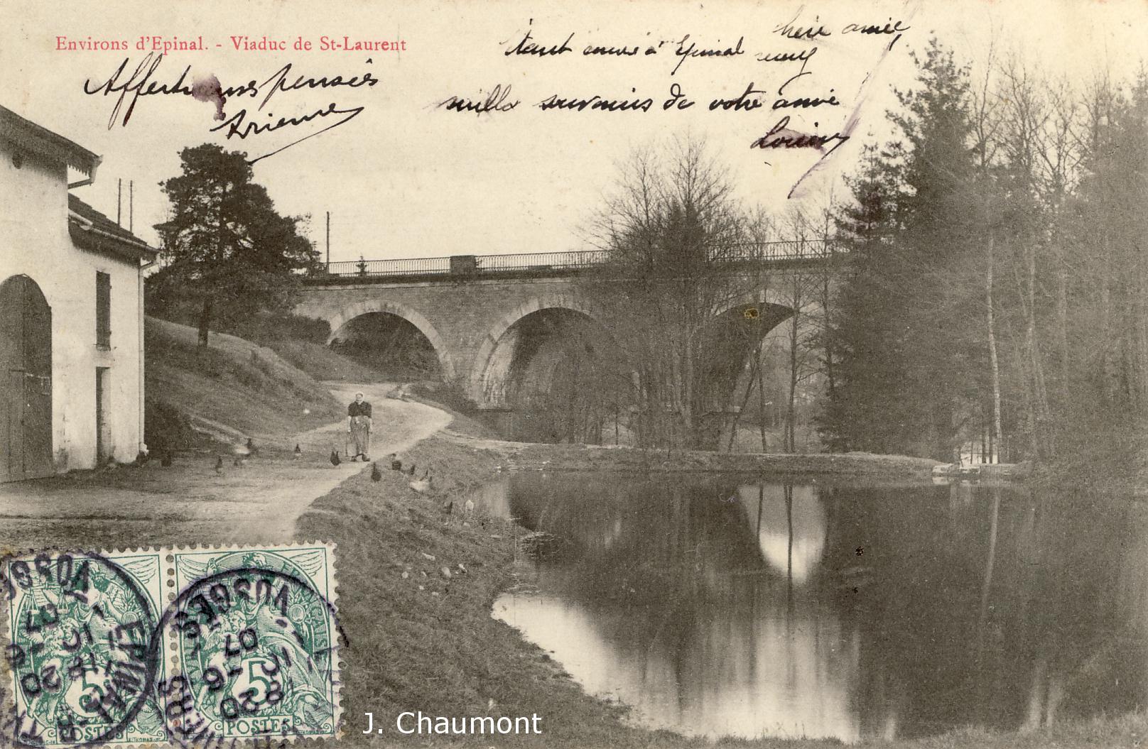 Viaduc en 1906