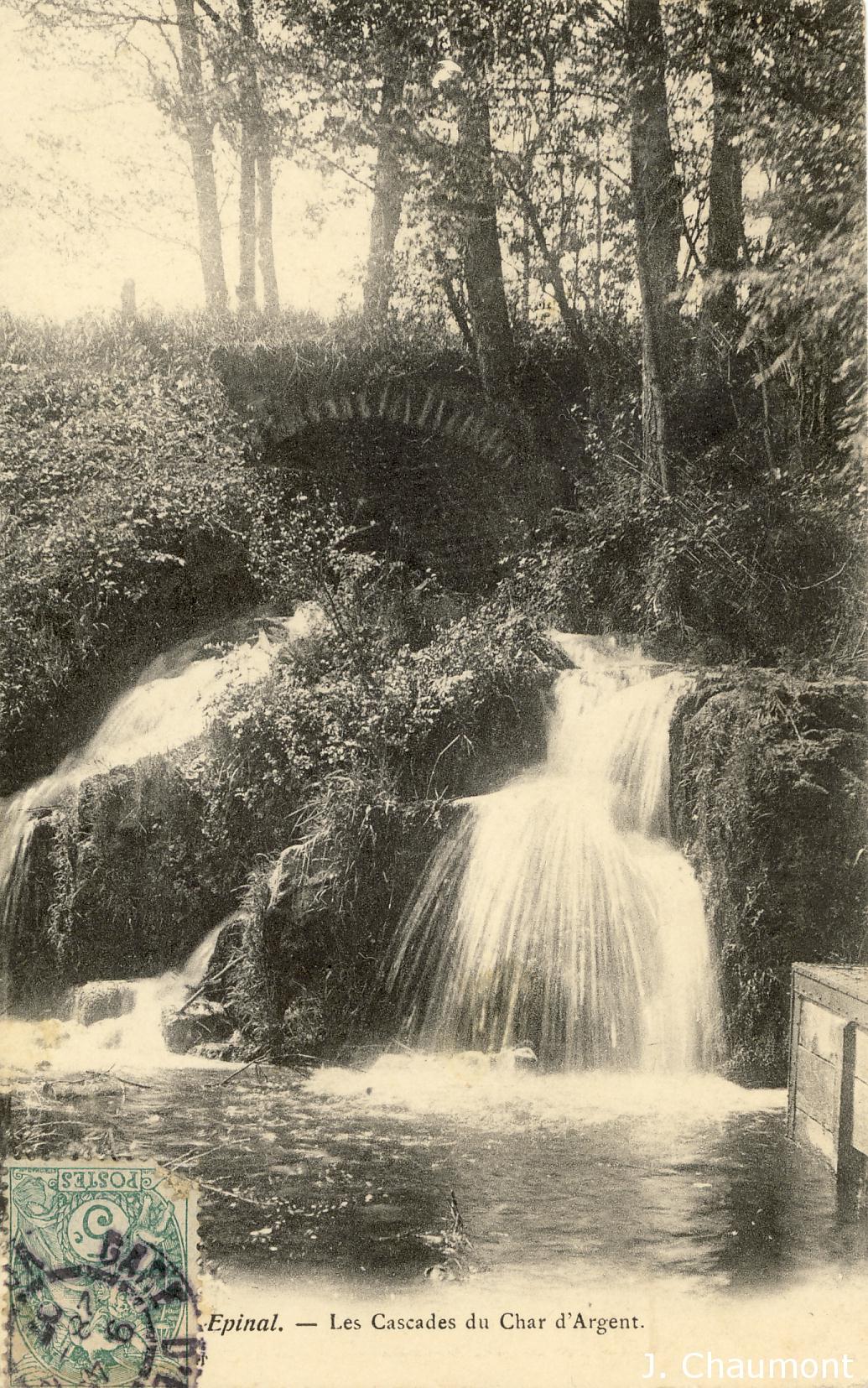 Les Cascades du Char d'Argent vers 1906
