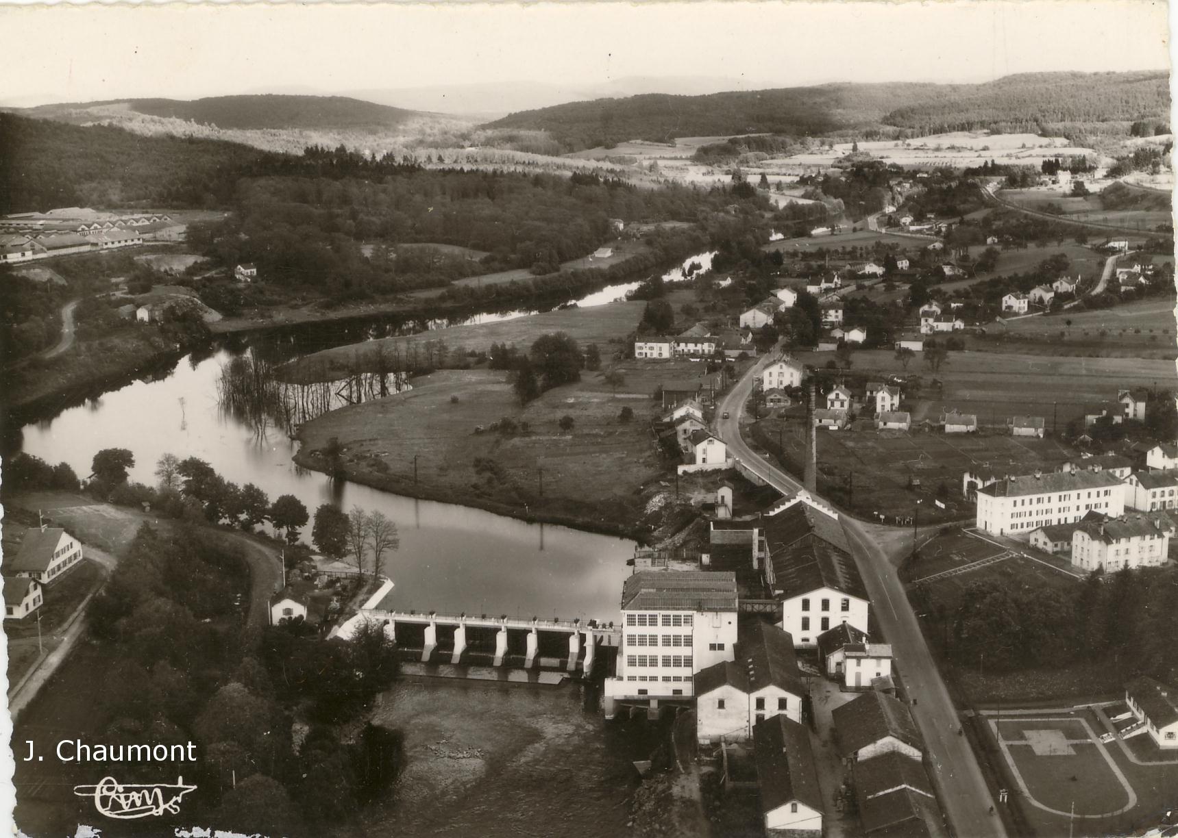 La Moselle et l'Usine BOUSSAC