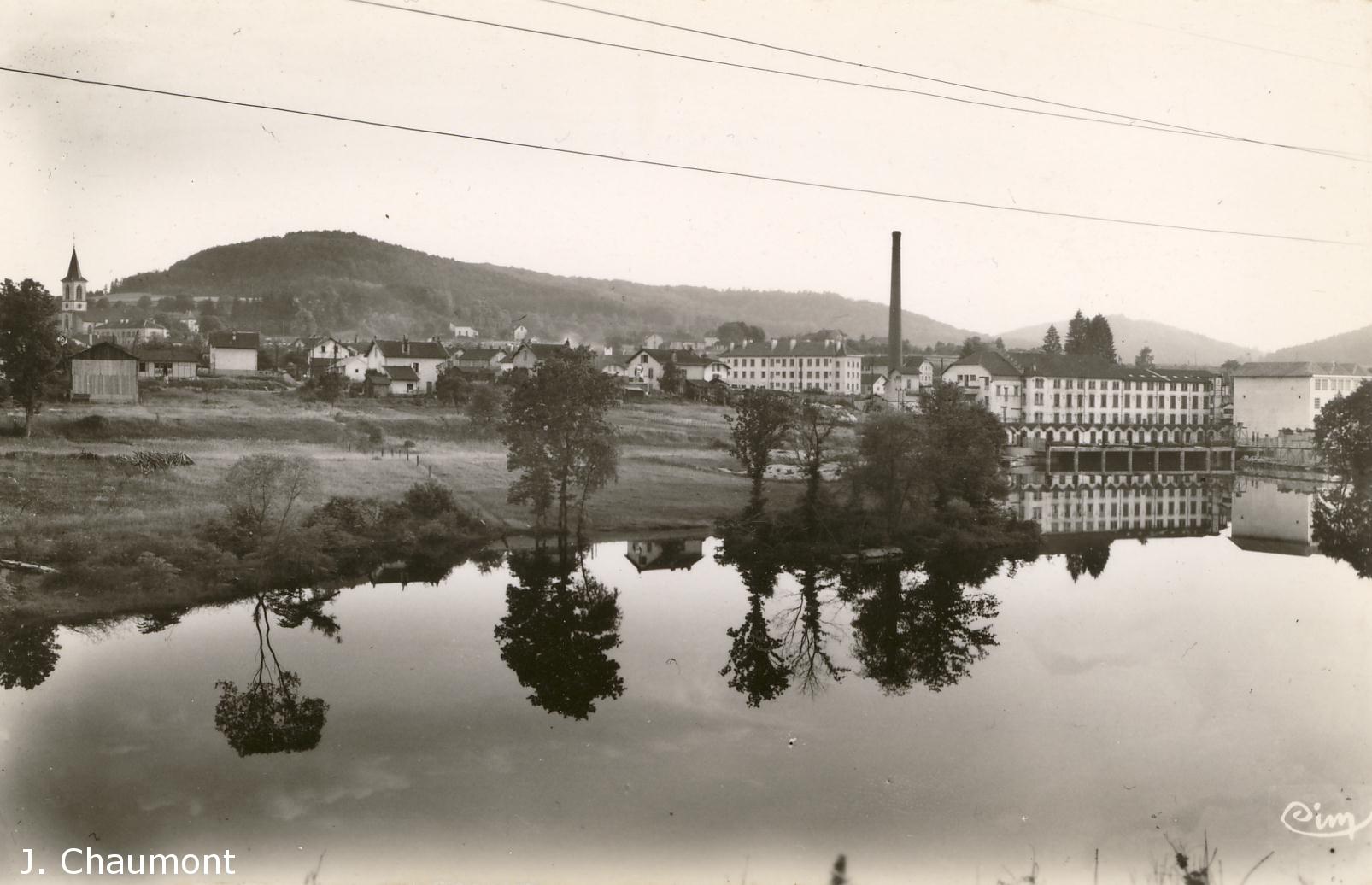 Vue générale et le Barrage dans les années 1950