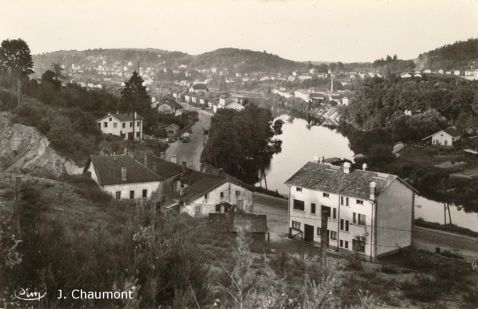 La Moselle, vue sur Epinal
