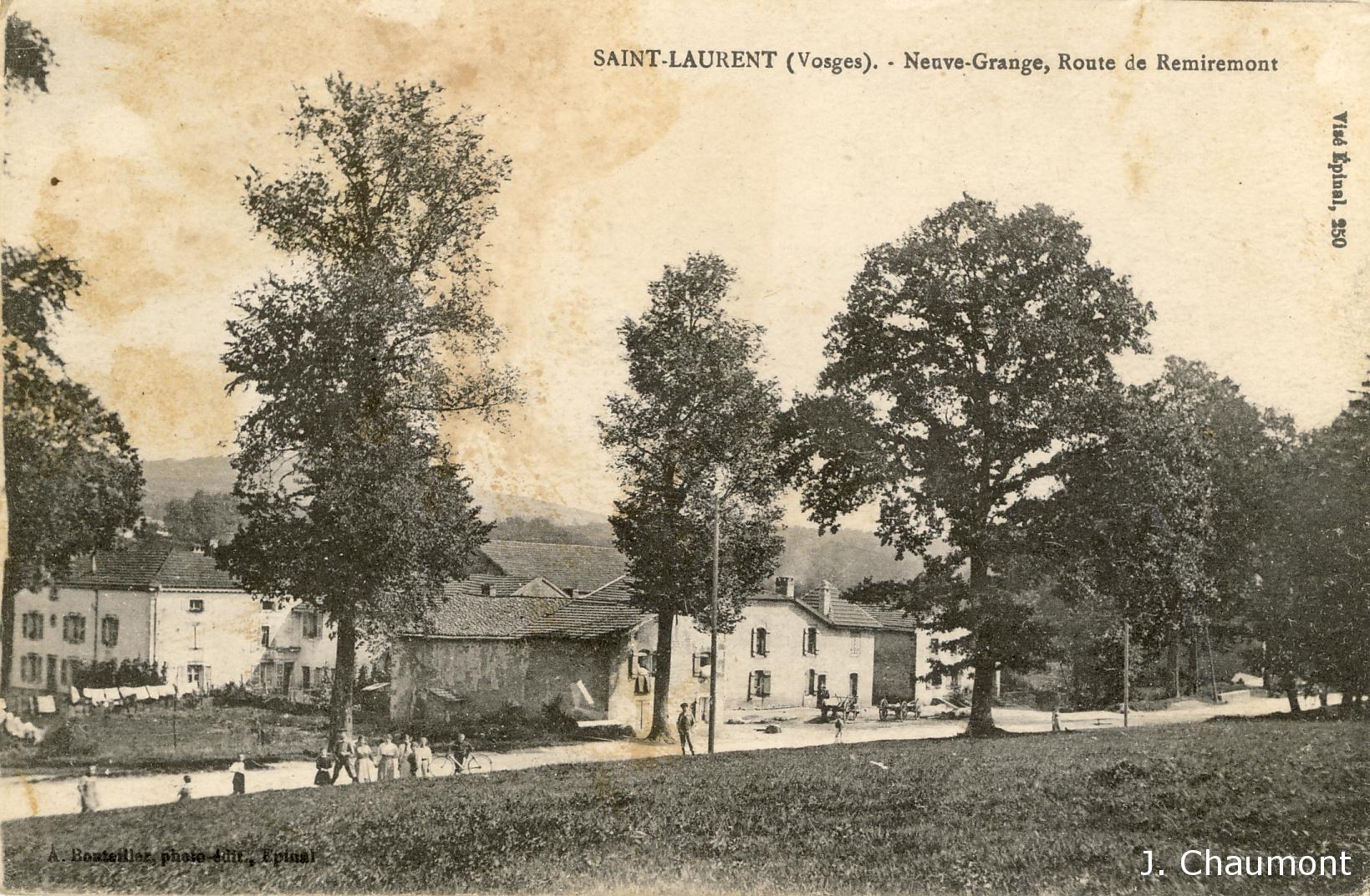 Neuve Grange, Route de Remiremont