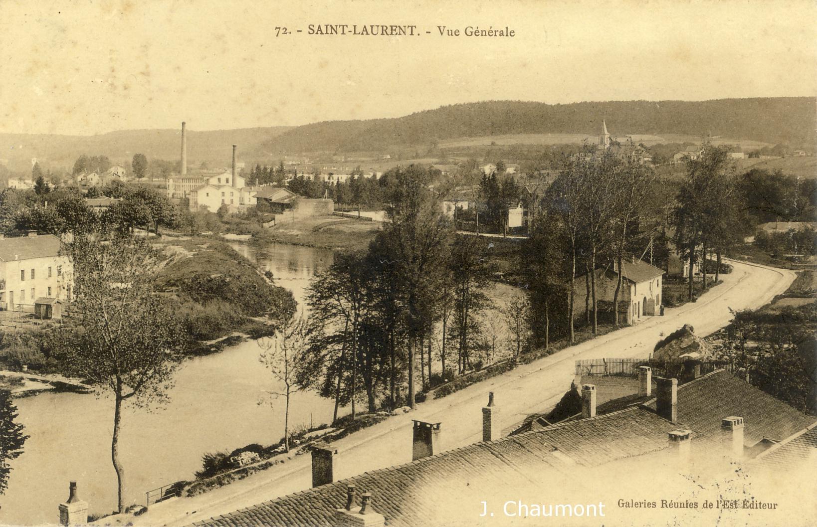 Vue générale en 1906